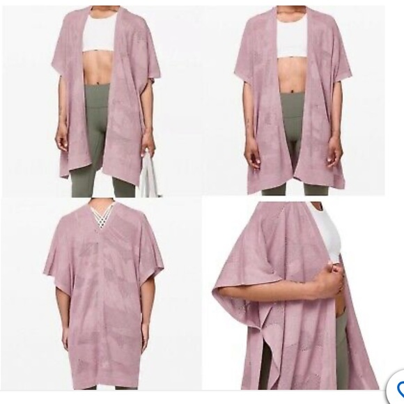 """NWT-Lululemon Athletica """"find your light"""" wrap!"""